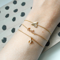 Souvenir Goldplated Bracelet Eagle