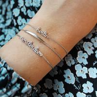 Souvenir Silverplated Bracelet Bar