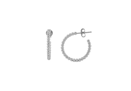 All the Luck in the World Essentials Silverplated Hoop Pin Bobble