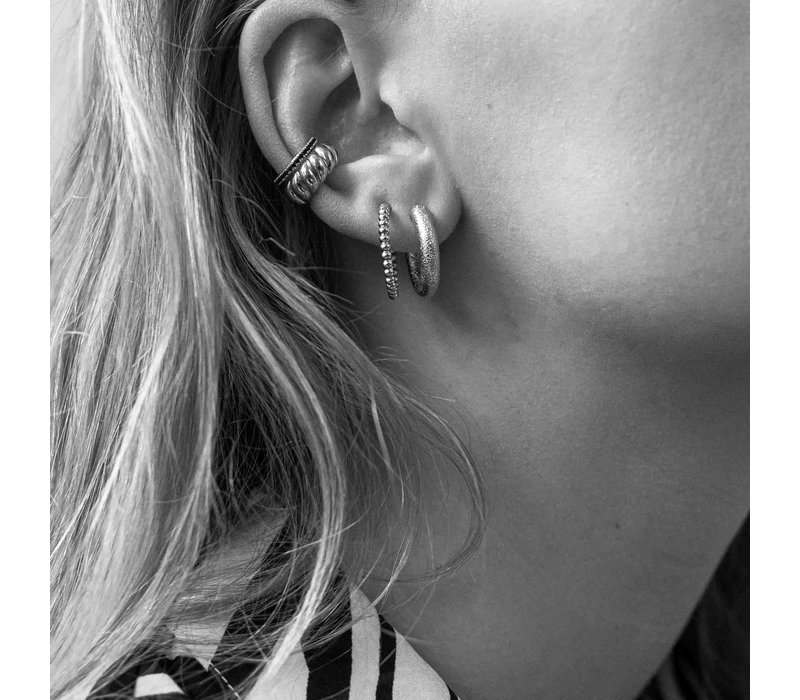 Essentials Silverplated Hoop Pin Bobble