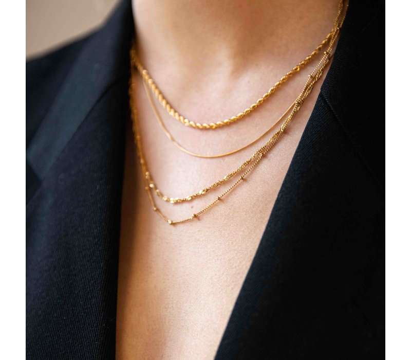 Essentials Goldplated Necklace Bobble