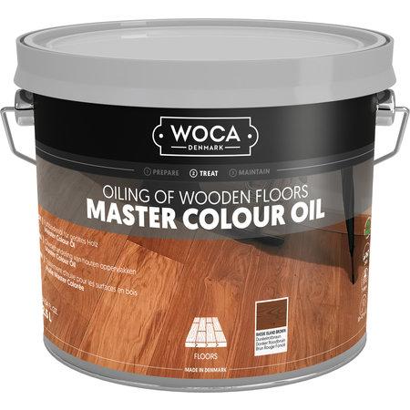 Woca Woca Master Kleur Olie Rhode Island Brown 2,5 Liter