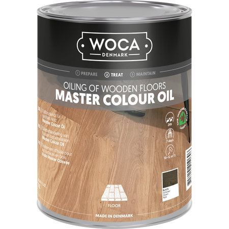 Woca Woca Master Kleur Olie Black 1 Liter