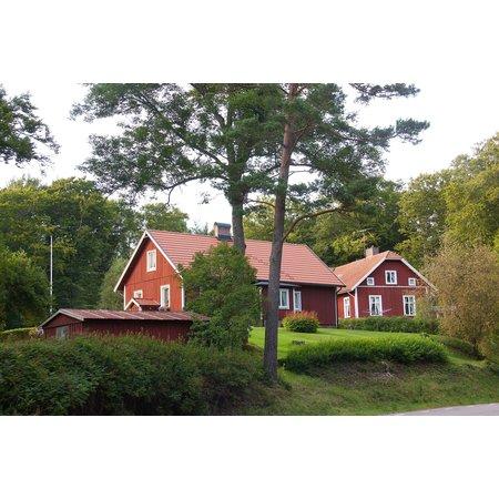 Teknos Drywood Woodstain VV Zweeds Rood 10 Liter voor 100 m2