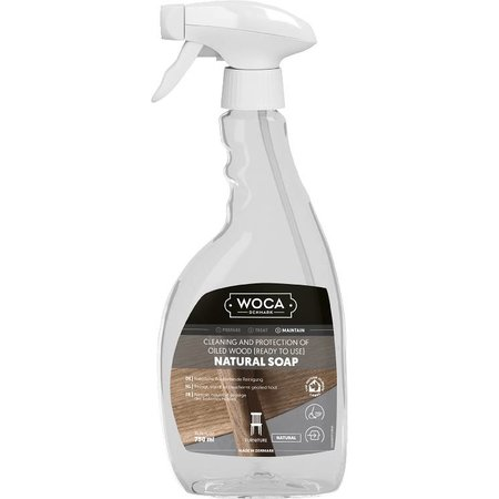 Woca Woca Natuurzeep Naturel 0,75 Liter Sprayflacon
