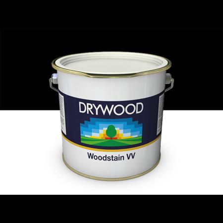 Teknos Drywood Woodstain VV Zwart  2,5 Liter Voor Gevelbekleding