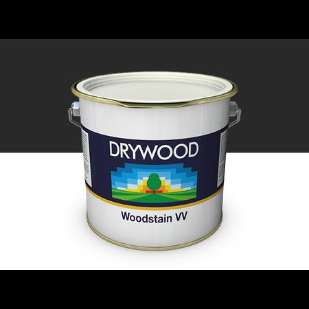 Teknos Drywood Woodstain VV Ebony Zwart Mat 10 Liter