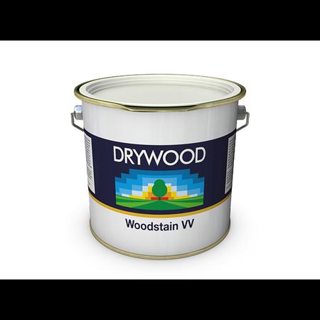 Teknos Drywood Woodstain VV Wit 2,5 Liter 25 m2 voor gevelbekleding