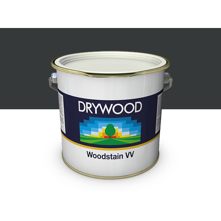 Teknos Drywood Woodstain VV Zwartgrijs 10 Liter (100 m2)