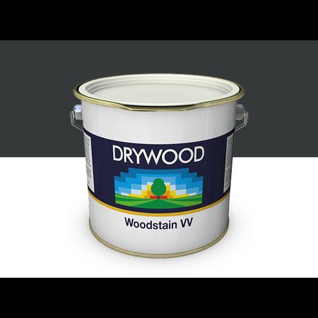 Teknos Drywood Woodstain VV Zwartgrijs 10 Liter(RAL7021)  100 m2
