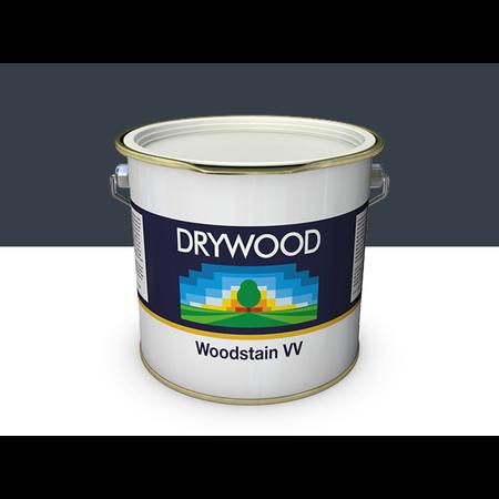 Teknos Drywood Woodstain VV Antraciet 2,5 Liter Voor Gevelbekleding 25m2