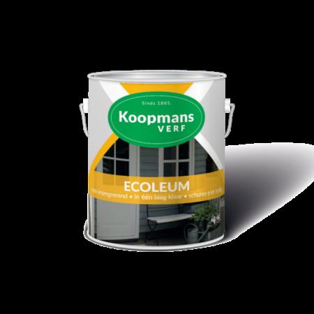 Koopmans Koopmans Ecoleum Ecogroen 2,5 Liter Transparante beits