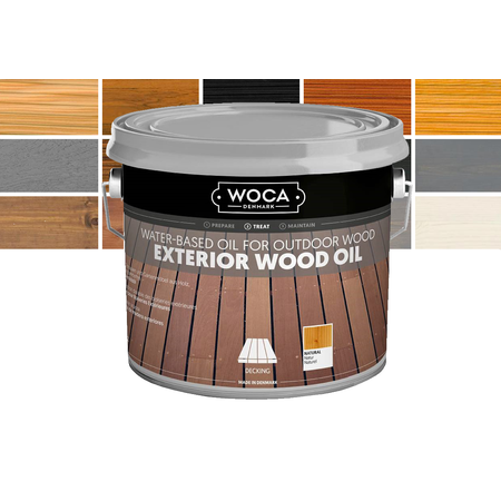 Woca Woca Hout Olie In Verschillende Kleuren 2,5L Voor Buiten