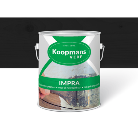 Koopmans Koopmans Impra zwart 2,5 Liter Semi-transparante tuinbeits