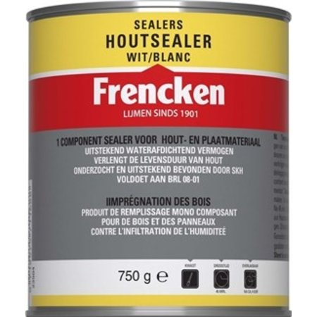 Frencken Frencken Houtsealer - Kopse sealer 0,75L Wit