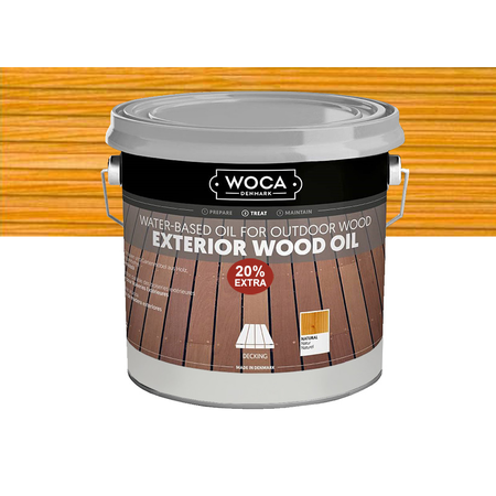 Woca Woca Exterior oil Lariks 2,5 liter