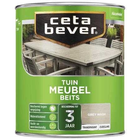 CetaBever Tuinmeubel Beits Grey Wash 750 ML