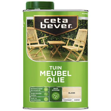CetaBever Cetabever Tuinmeubelolie Waterproof 1 Liter of 500 ml