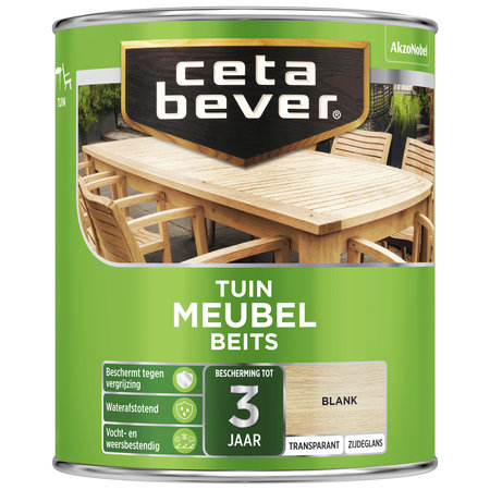 CetaBever Cetabever Tuinmeubel beits kleurloos 750 ML