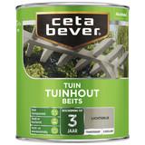 CetaBever Transparante tuinhout beits lichtgrijs Zijdeglans 0,75 Liter
