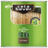 CetaBever Schuttingbeits Transparant Lichtbruin 2,5 liter