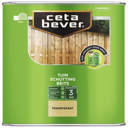 CetaBever Schuttingbeits Transparant kleurloos 2,5 liter