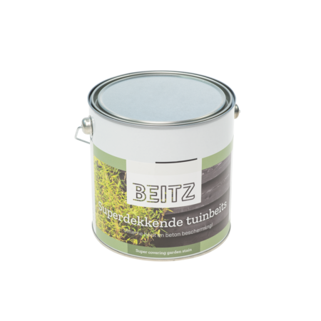 Beitz Tuinbeits Wit  2,5 Liter Voor Hout en Beton - Beitz