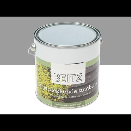 Beitz Tuinbeits Betongrijs 2,5 Liter Superdekkend Voor Hout en Beton - Beitz