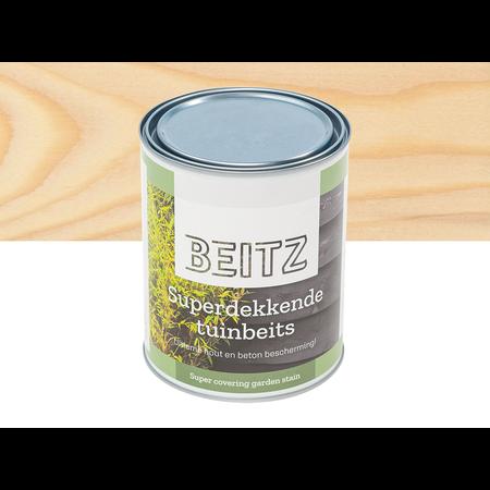 Beitz Tuinbeits Transparant 1 Liter Superdekkend Voor Hout en Beton - Beitz