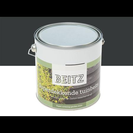 Beitz Tuinbeits Antraciet 2,5 Liter Superdekkend Voor Hout en Beton - beitz