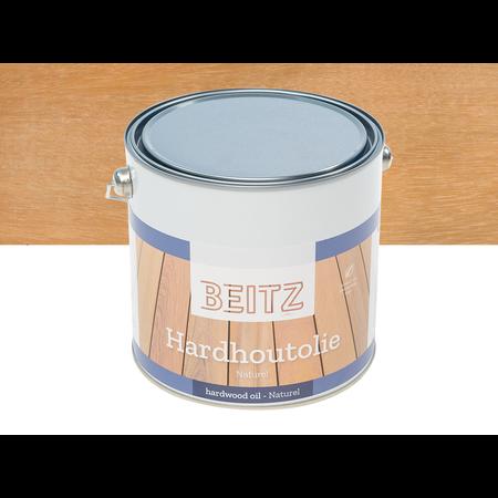 Beitz Beitz - Hardhout olie naturel 2,5 liter Plantaardig