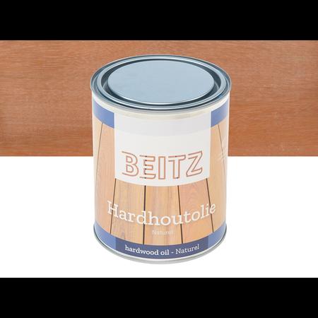 Beitz Beitz - Hardhout olie Bankirai 1 liter Plantaardig