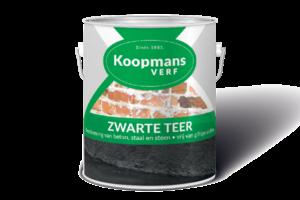 Waarom teer gebruiken bij palen die in de grond staan - Zo gebruikt u Teer(verf)!
