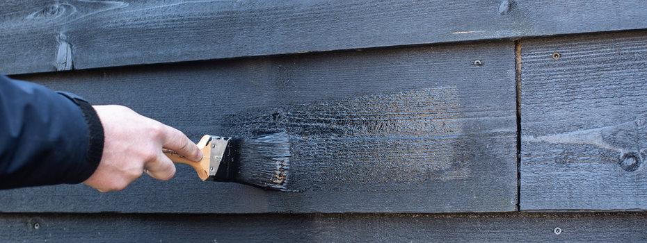 Schutting Beitsen - Belangrijk - Hier moet u op letten bij het beitsen van een houten schutting!