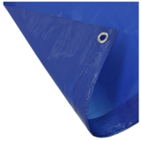 Beitz Afdekzeil Blauw 110 gram per m2