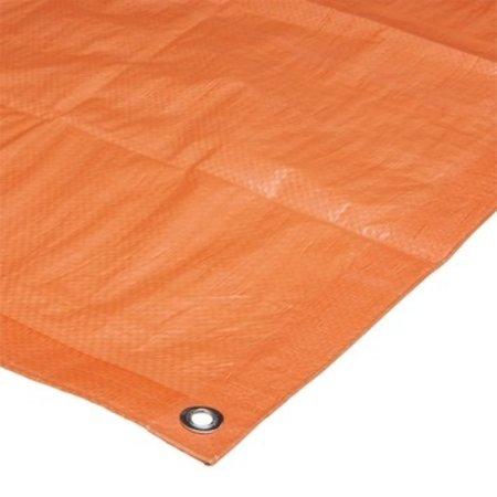 Beitz Afdekzeil Oranje 110 gram per m2 verschillende maten