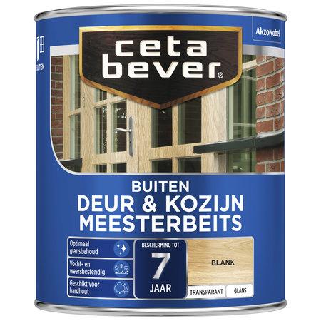 CetaBever Meesterbeits Deuren & Kozijnen Blank 0,75L Zijdeglans