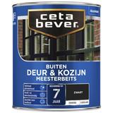 CetaBever Meesterbeits Deur & Kozijnen Zwart  0,75L Zijdeglans