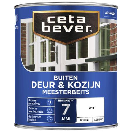 CetaBever Meesterbeits Deuren & Kozijnen Wit 0,75L Zijdeglans