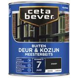 CetaBever Meesterbeits Deur & Kozijnen Zwart  2,5L Zijdeglans