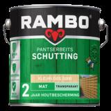 Rambo Rambo Pantser Beits Schutting Kleurloos 2,5 Liter Mat