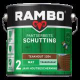 Rambo Rambo Pantser Beits Schutting Teak 2,5 Liter Mat