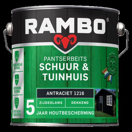 Rambo Rambo Pantserbeits Schuur & Tuinhuis 0,75L Antraciet grijs Dekkend