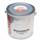 Böhme Böhme - Boerenbeits Diepzwart RAL 9005 - 2,5 Liter