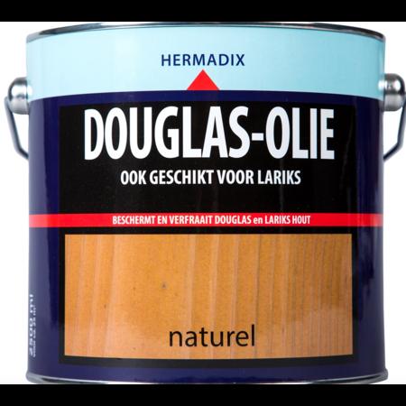 Hermadix Douglas Olie 2,5L Naturel - Voor Lariks en Douglas!