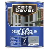 CetaBever Meesterbeits Deur & Kozijnen RAL7001 2,5L Zijdeglans