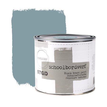 Schoolbordverf - Eucalyptus  Blauw 500 ML