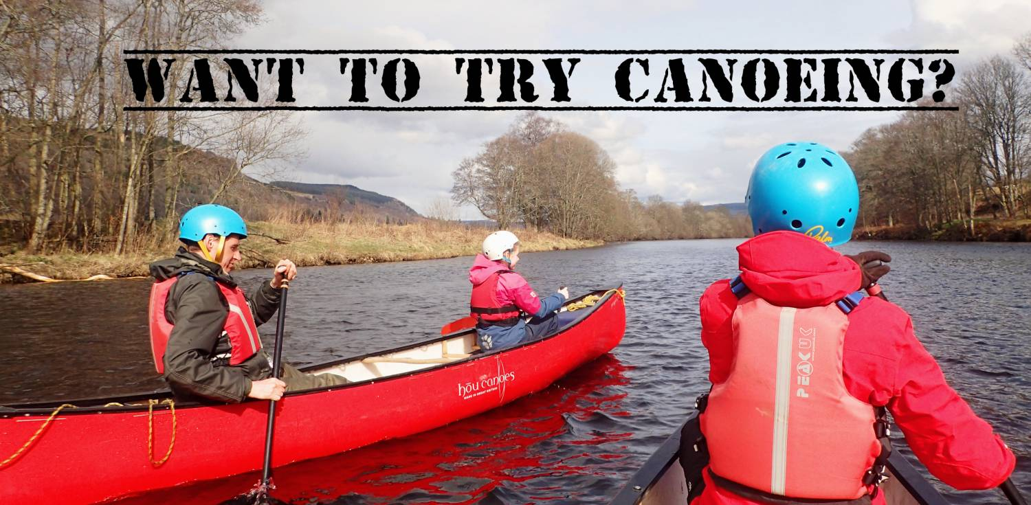 Want To Try Canoeing?