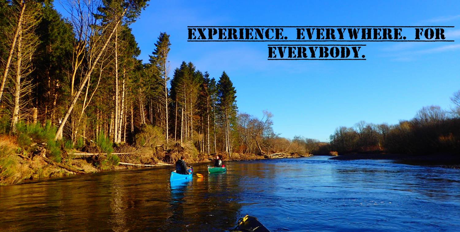 Canoe Experiences Offered Around The UK