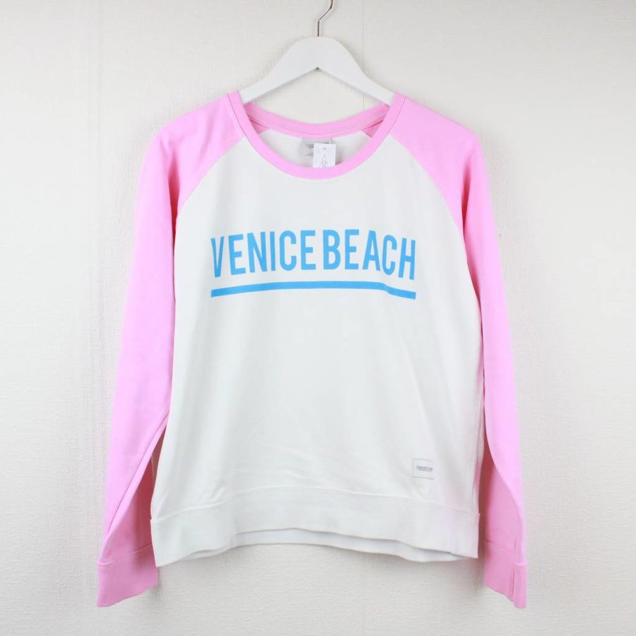 WIT/ROZE SWEATER | COLOURFUL REBEL | MAAT XL